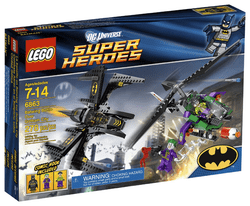 SUPER HEROES: Batwing Battle over Gotham City