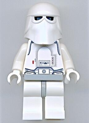 Snowtrooper, Light Gray Hips, White Hands